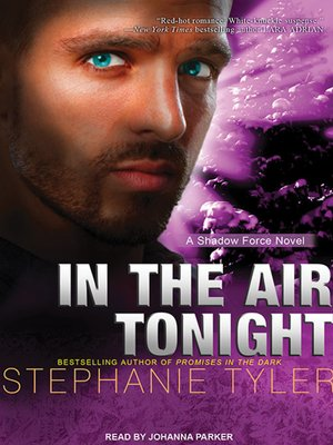 cover image of In the Air Tonight--A Shadow Force Novel