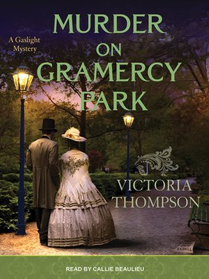 cover image of Murder on Gramercy Park