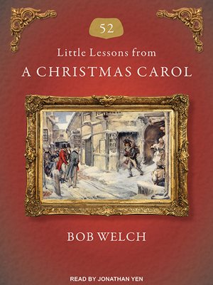 cover image of 52 Little Lessons from a Christmas Carol
