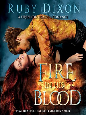 cover image of Fire In His Blood