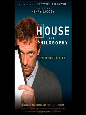 cover image of House and Philosophy--Everybody Lies