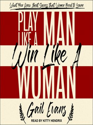cover image of Play Like a Man, Win Like a Woman