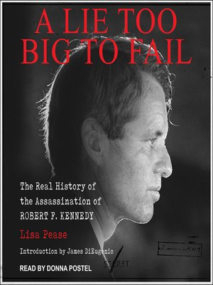cover image of A Lie Too Big to Fail