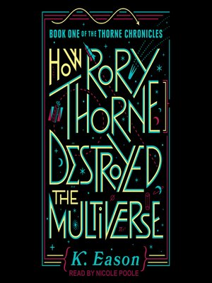 cover image of How Rory Thorne Destroyed the Multiverse