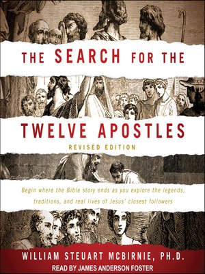 cover image of The Search for the Twelve Apostles
