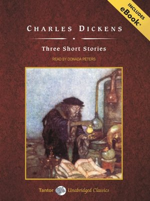 cover image of Charles Dickens' Three Short Stories