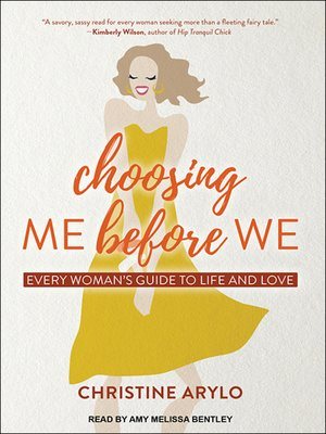 cover image of Choosing ME Before WE
