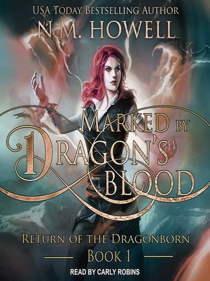 cover image of Marked by Dragon's Blood