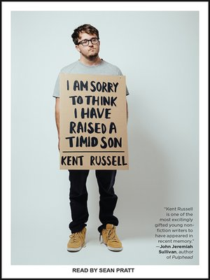 cover image of I Am Sorry to Think I Have Raised a Timid Son