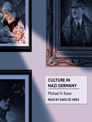 cover image of Culture in Nazi Germany