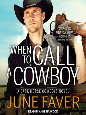 cover image of When to Call a Cowboy