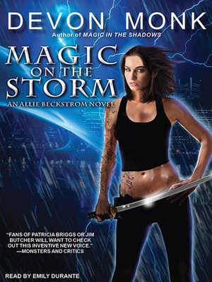 cover image of Magic on the Storm