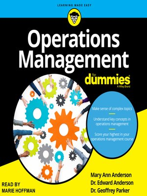 cover image of Operations Management for Dummies
