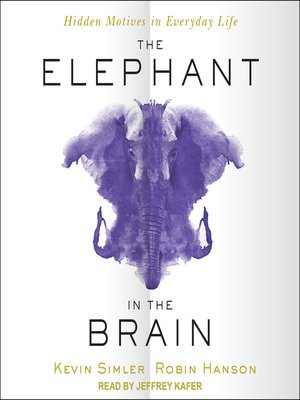 cover image of The Elephant in the Brain