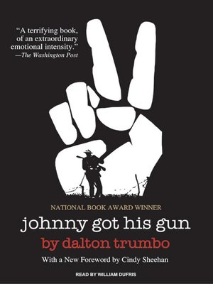 cover image of Johnny Got His Gun