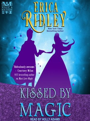 cover image of Kissed by Magic