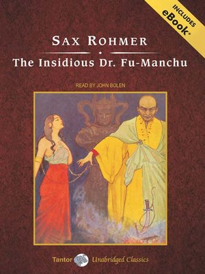 cover image of The Insidious Dr. Fu-Manchu