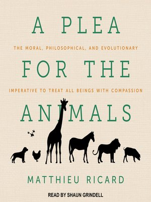 cover image of A Plea for the Animals