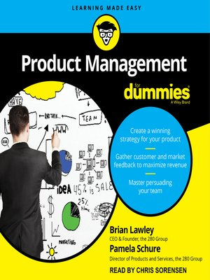 cover image of Product Management for Dummies