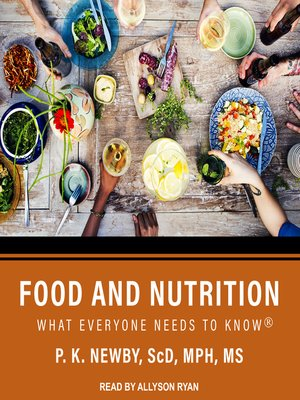 cover image of Food and Nutrition