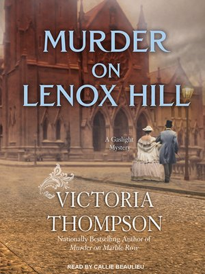 cover image of Murder on Lenox Hill