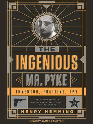 cover image of The Ingenious Mr. Pyke