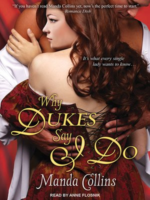 cover image of Why Dukes Say I Do