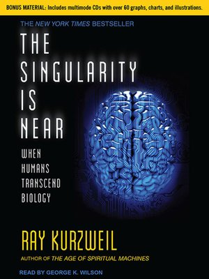 cover image of The Singularity Is Near