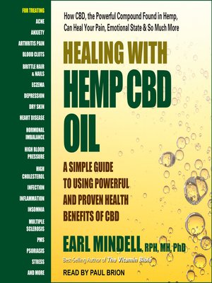 cover image of Healing with Hemp CBD Oil
