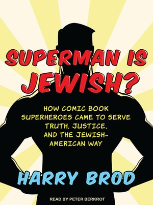 cover image of Superman Is Jewish?