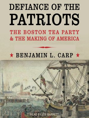 cover image of Defiance of the Patriots