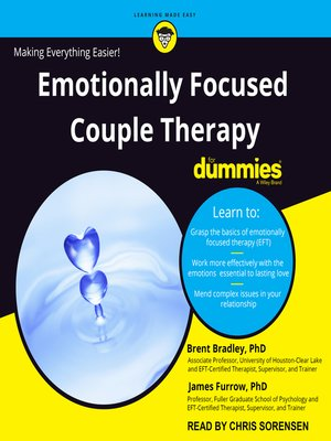 cover image of Emotionally Focused Couple Therapy for Dummies