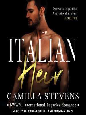 cover image of The Italian Heir