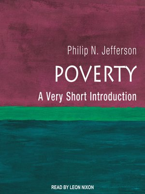 cover image of Poverty