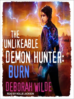 cover image of The Unlikeable Demon Hunter--Burn