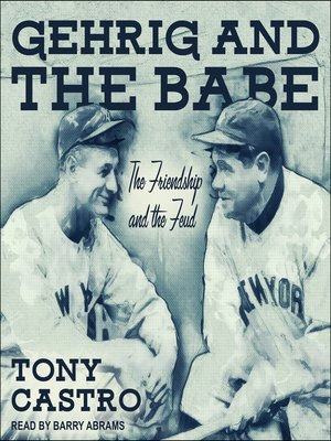 cover image of Gehrig and the Babe