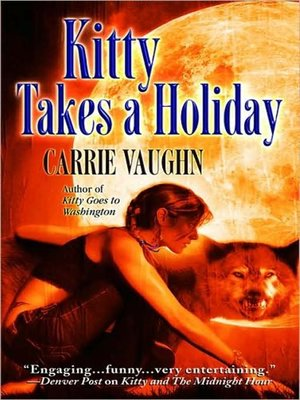 cover image of Kitty Takes a Holiday