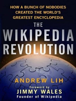 cover image of The Wikipedia Revolution
