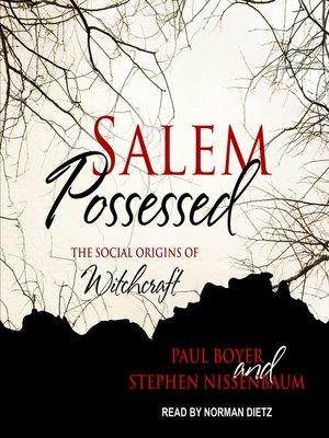 cover image of Salem Possessed