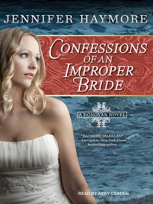 cover image of Confessions of an Improper Bride