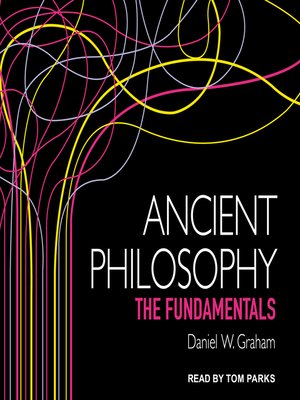cover image of Ancient Philosophy