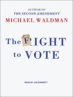 cover image of The Fight to Vote