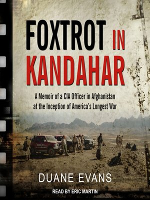 cover image of Foxtrot in Kandahar