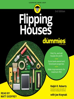 cover image of Flipping Houses for Dummies