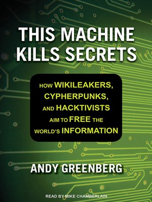 cover image of This Machine Kills Secrets
