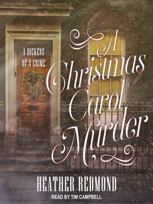 cover image of Christmas Carol Murder