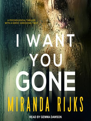 cover image of I Want You Gone