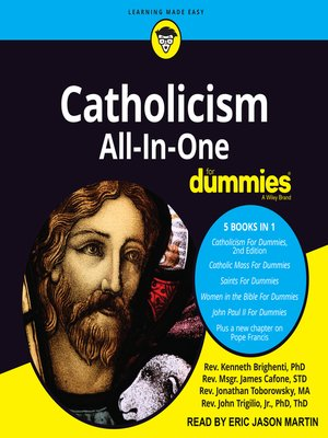 cover image of Catholicism All-In-One For Dummies
