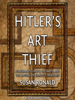cover image of Hitler's Art Thief