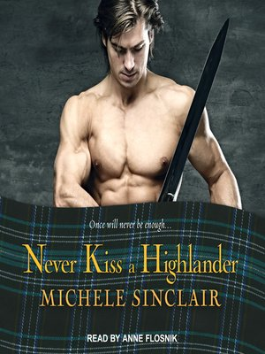 cover image of Never Kiss a Highlander